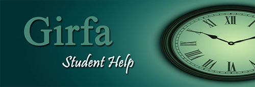 Girfa Student Help Logo