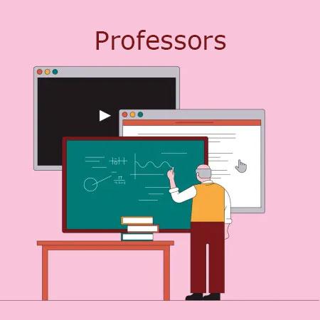 Professors banner clipart